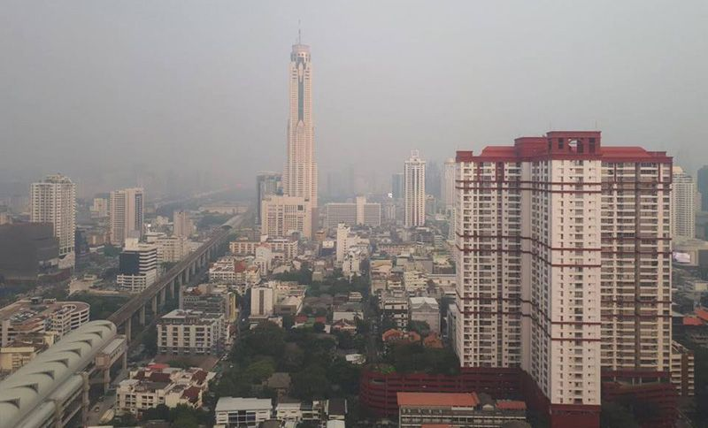 กทม.-ปริมณฑลวิกฤติ ฝ่นมลพิษพุ่ง ส่งผลกระทบต่อสุขภาพ