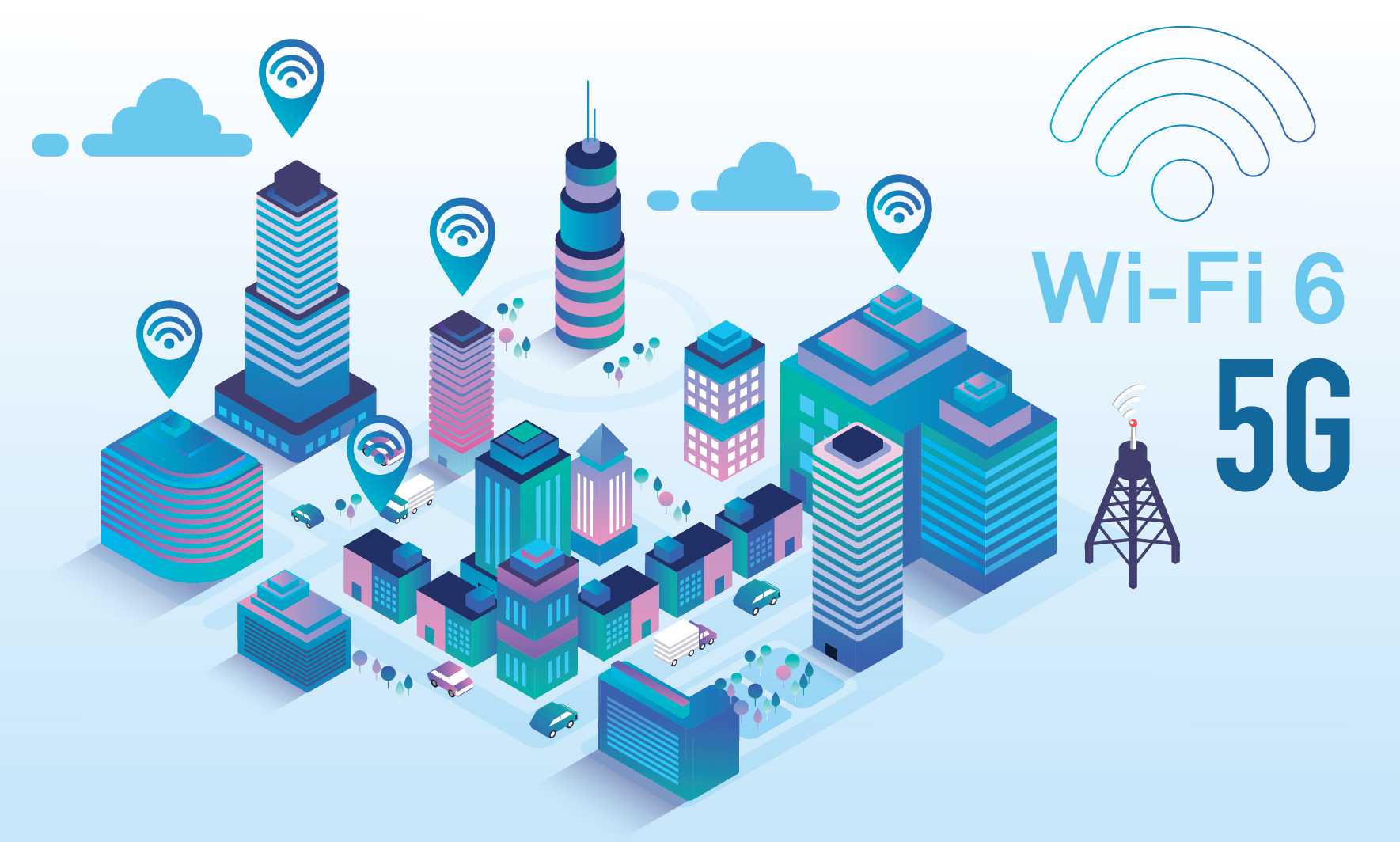 5 สิ่งที่คุณควรทราบเกี่ยวกับ Wi-Fi 6 และ 5G